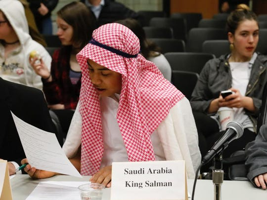 Sam Cariddi votes on issues as if he was King Salman