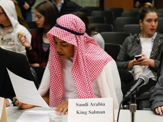 Sam Cariddi votes on issues as if he was King Salman of Saudi Arabia.