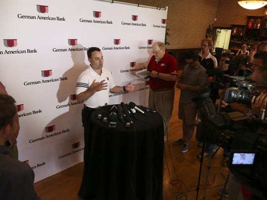 IU Head Basketball Coach Archie Miller spoke to the