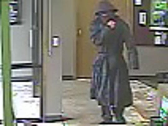 A still image of the man police say robbed Voyager