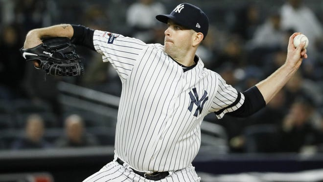 James Paxton won a career-high 10 straight starts for the Yankees last season. The Yankees must decide whether they want to extend the lefty or let him walk after this season.