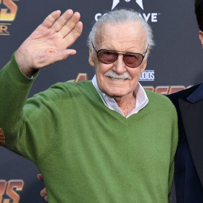 """Stan Lee attends the premiere of """"Avengers: Infinity"""