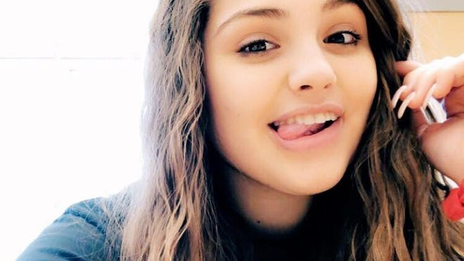 A December 2019 photo of Emily Carreiro, a Stoughton High School student who died at the age of 17 on Thursday, Sept. 10, 2020.