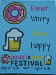 The Donut & Beer Festival will be at Homer Stryker