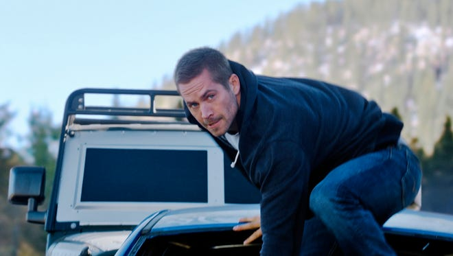 """Furious 7"" is dedicated to star Paul Walker, who died in a car crash in 2013."