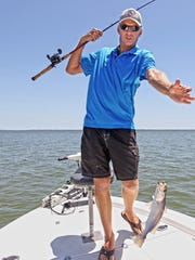 Capt. Jon Darnell prefers to show his charter clients the joys of lure fishing from Corpus Christi Bay to the Landcut.