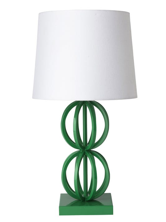 Ap Homework Lighting Jpg A Two Ring Table Lamp By Land Of Nod