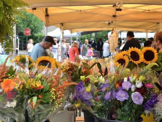 The Teaneck Farmers' Market is holding a multi-level