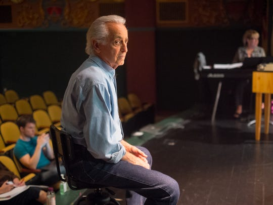 Playwright and director Mark Medoff at the Rio Grande Theatre.