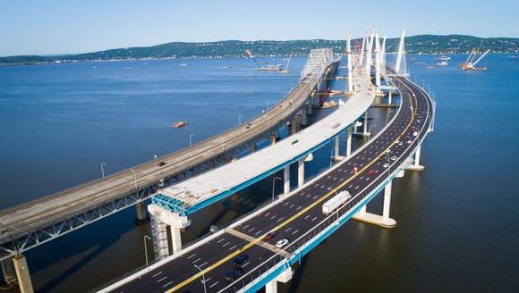 The Gov. Mario M. Cuomo Bridge open up traffic to the