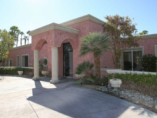 The Marion Davies Estate in Rancho Mirage which is
