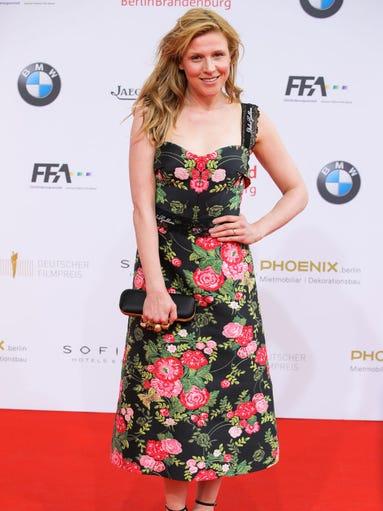 Franziska Weisz attends the Lola - German Film Award