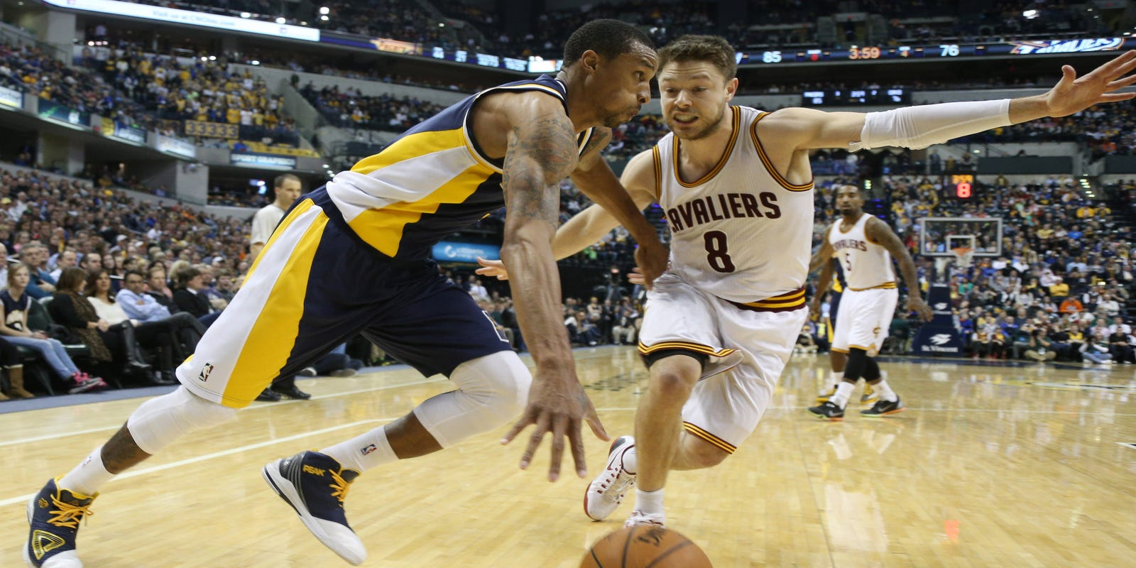 aeac562f859d4a Surging Pacers hold off short-handed Cavaliers 93-86