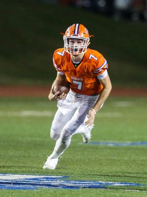 San Angelo Central quarterback Maverick McIvor led the Bobcats to a perfect regular season in 2017. He threw for 2,722 yards and 35 touchdowns and had a team-high 772 rushing yards and eight TDs.