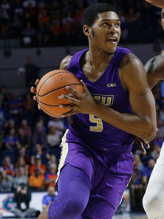 USP NCAA BASKETBALL: JAMES MADISON AT FLORIDA S BKC FLO JMU USA FL