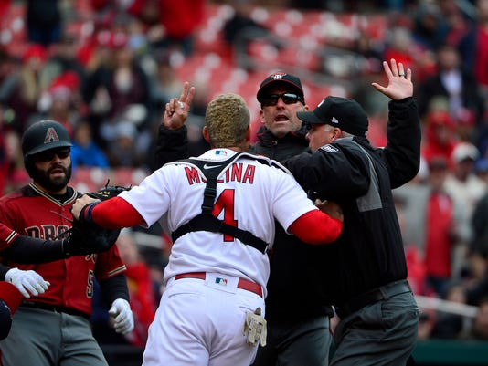 MLB: Arizona Diamondbacks at St. Louis Cardinals