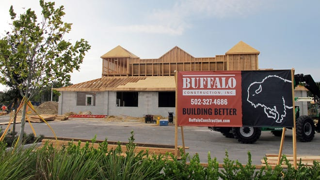Texas Roadhouse is being built by Buffalo Construction in Restaurant Row near Collier Boulevard and U.S. 41 East.