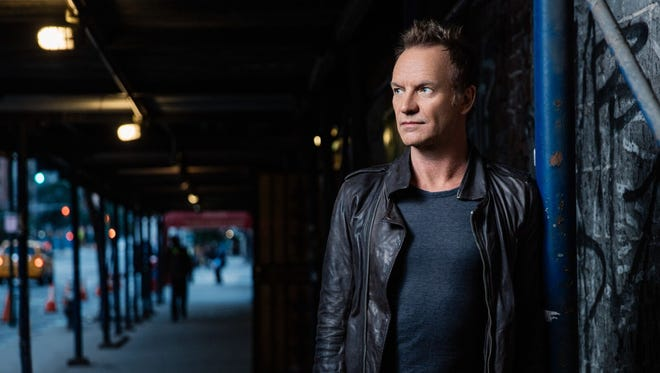 Sting is among the headliners at the second annual Bourbon & Beyond festival Sept. 22-23 in Louisville's Champions Park.