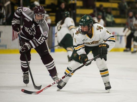 Colgate vs. Vermont Women's Hockey 01/02/15