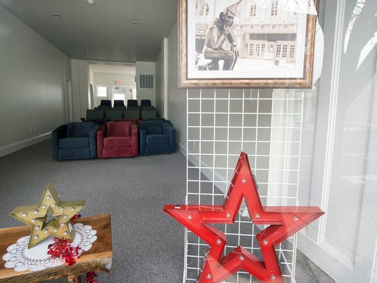 Small Star Art House in the 200 block of West Market