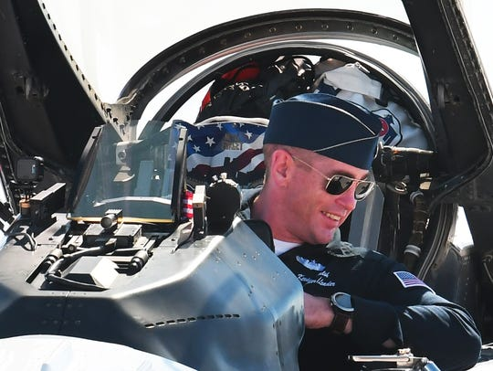 Commander/ Leader Kevin Walsh. The U.S. Air Force