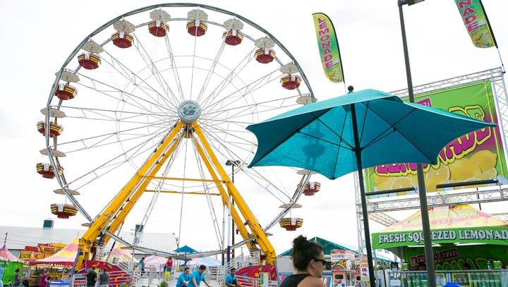 Delaware State Fair: Deals, weather, rides and shows return Thursday