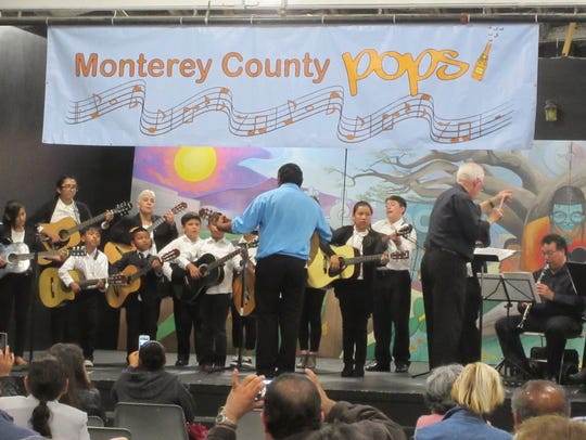 La Rondalla, the guitar ensemble from the Alisal Center