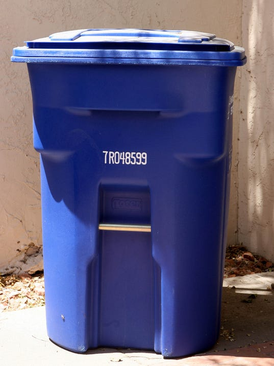 . Trash  recycling pickup on regular schedule for 4th of July