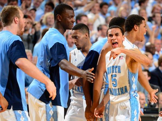 USP NCAA Basketball_ Duke at North Carolina