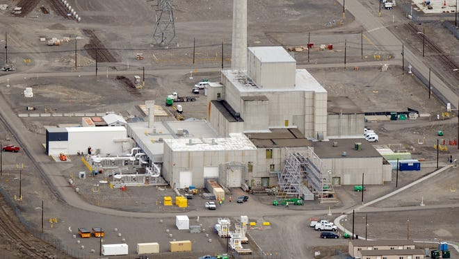 Hanford site on March 21, 2011.