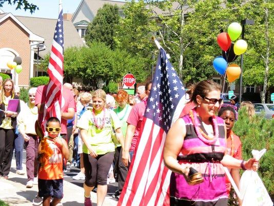 cedar crest olympics parade 2