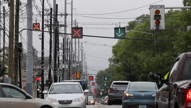 Bardstown Road traffic pattern changes during the morning and afternoon commute times.