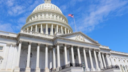 The House voted 228-199 Wednesday night to approve the $3.8 trillion budget