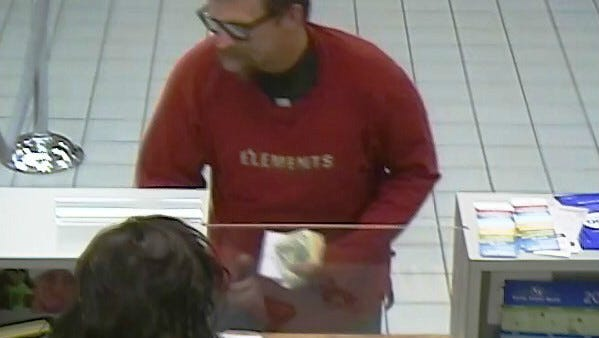 Man who authorities believe robbed a Fifth Third Bank near Jamaica Bay