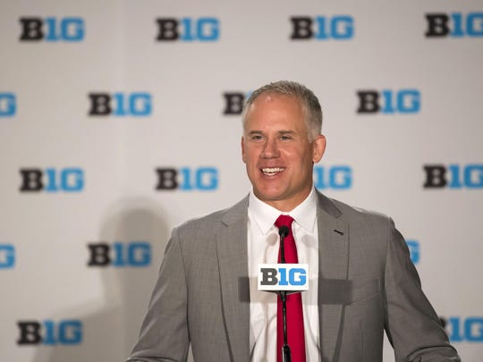 Maryland coach D.J. Durkin was very optimistic about his team at Big Ten Media Days.