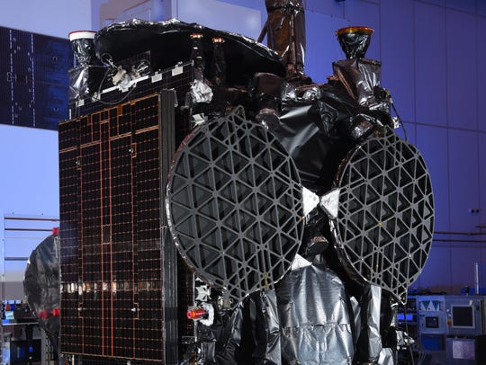 The GovSat-1 satellite, which was built by Orbital