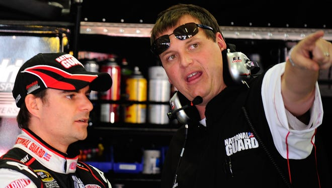 Steve Letarte - now a commentator with NBC Sports - was the pit boss for Jeff Gordon's crew for 186 races.