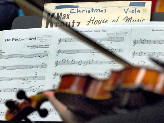"The Wichita Falls Community Orchestra performed its ""Comfort & Joy"" holiday concert Dec. 17 at Akin Auditorium."