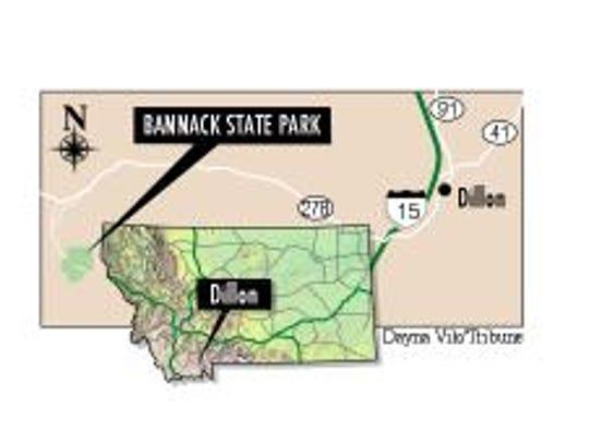 Bannack is near Dillon