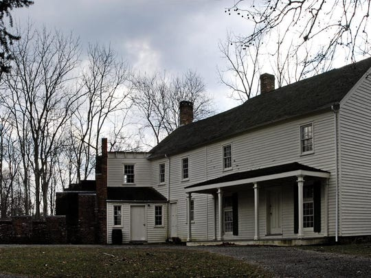 """The """"Big House"""" at Allaire Village."""