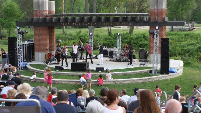More than 10 bands will rock out June 10 at the LaFontaine Family Amphitheater in Milford's Central Park.