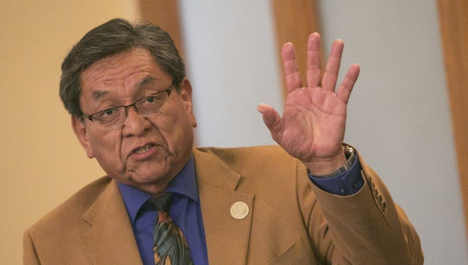 Navajo Nation President Russell Begaye is poised to  sign emergency legislation that would remove and replace the tribal housing agency's board of commissioners.