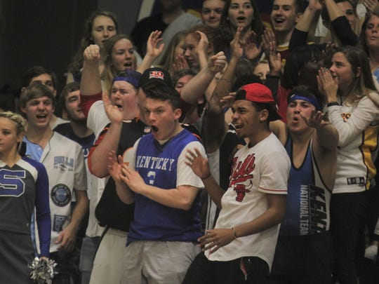 Scott students get fired up.