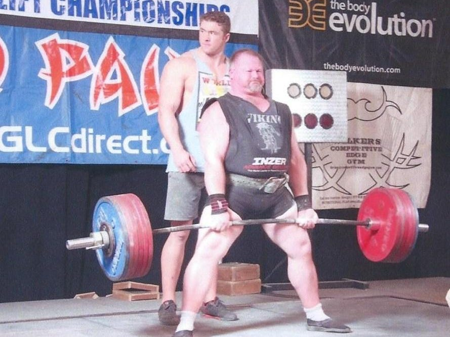 Dave Forstner of Ruby, won his 21st world championship in powerlifting in 2014, breaking two world records in the process. He is being inducted into the Port Huron Sports Hall of Fame.
