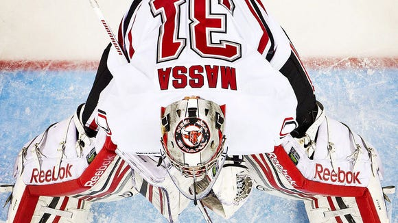 Mavericks goalie Ryan Massa has a 2.14 goals-against average and .933 save percentage in 21 games.