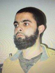 This undated and unsituated picture obtained on March 23, 2018 shows Radouane Lakdim, who authorities have named as the 26-year-old attacker responsible for the death of at least three people in southwest France.