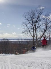 Sun, water and freshly groomed snow at Nub's Nob. This year's ski season got off to an early start thanks to a sustained cold snap in November.