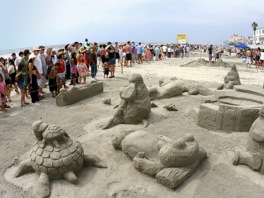 The Sun & Sea Festival in July is a must-see celebration of the art of sand sculpting.