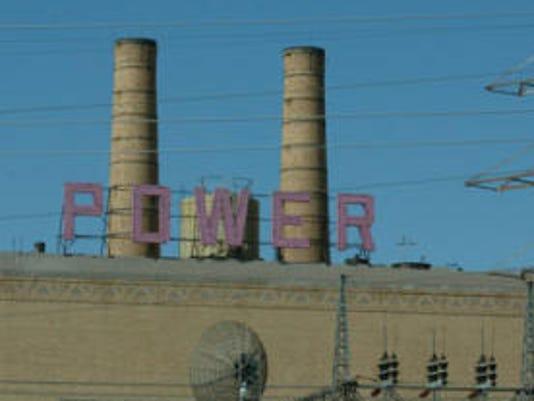 Rio Grande power plant
