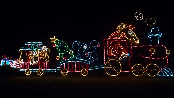 The Wonderland of Lights will open at 6 p.m. on Thanksgiving at the Pensacola Interstate Fairgrounds. The drive-thru holiday lights show will be on display through Dec. 30.